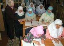 Чеченки пройдут в казанской мечети курсы для незрячих мусульманок