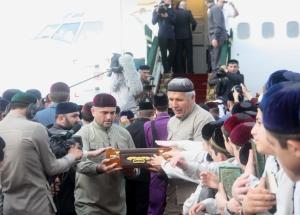 В Чечню привезли священные для мусульман реликвии