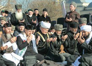В Чечне состоялся митинг против карикатур на Пророка Мухаммеда (мир ему), собравший более миллиона участников